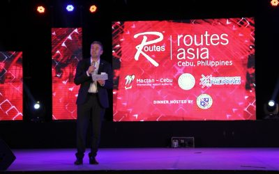 "Media Release: ""DOT, MCIAA welcome Routes Asia 2019 delegates to Cebu."