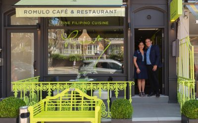 Romulo Cafe, the capital's favourite Filipino restaurant to showcase vibrant new look