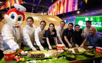 "DOT, Jollibee launch food tourism campaign with ""Eats. More Fun in the Philippines"""