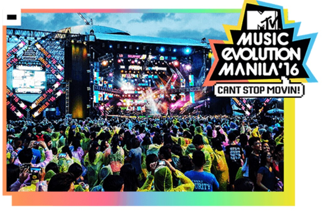 Philippines To Host MTV Evolution For Second Year