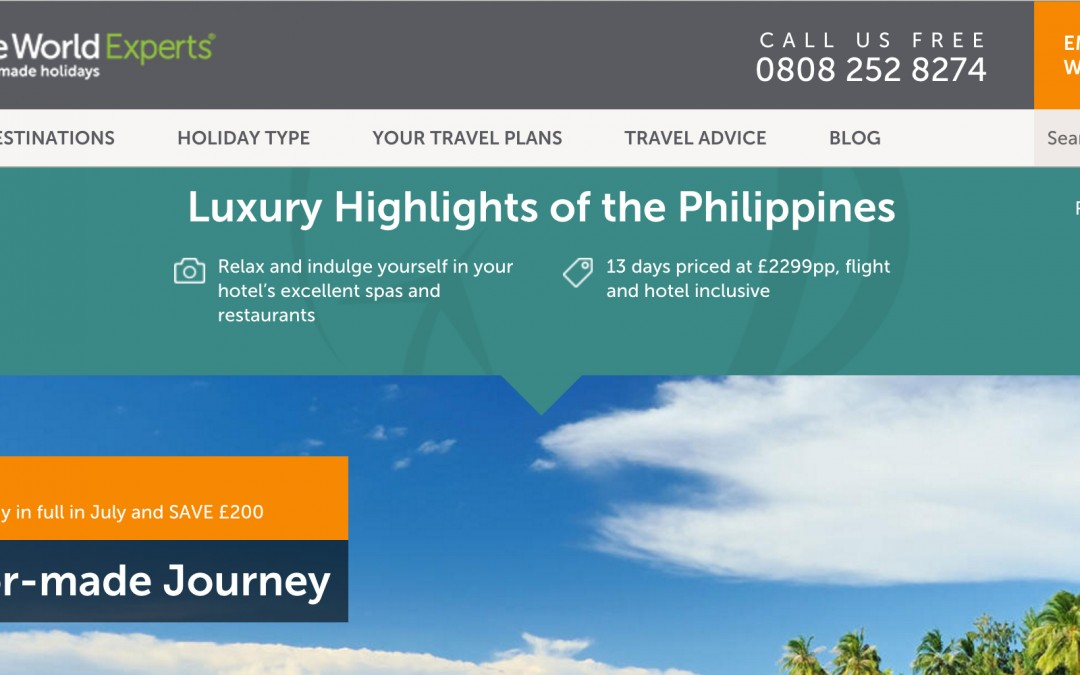 Round the World Experts Launch Special Fare to the Philippines for Kings Cross Campaign