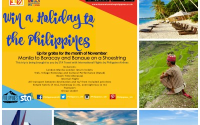 Win a Holiday with STA's Manila to Boracay and Banaue on a Shoestring Package