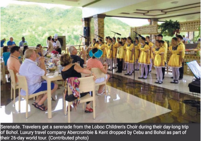 Luxury Travellers Descend on Cebu, Bohol