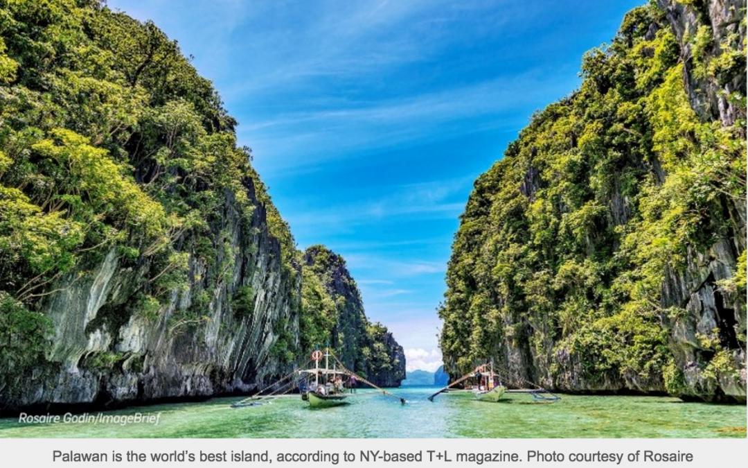 3 Philippine Islands land in New York-based Magazine's Word's Best Islands with Palawan Winning World's Best Accolade