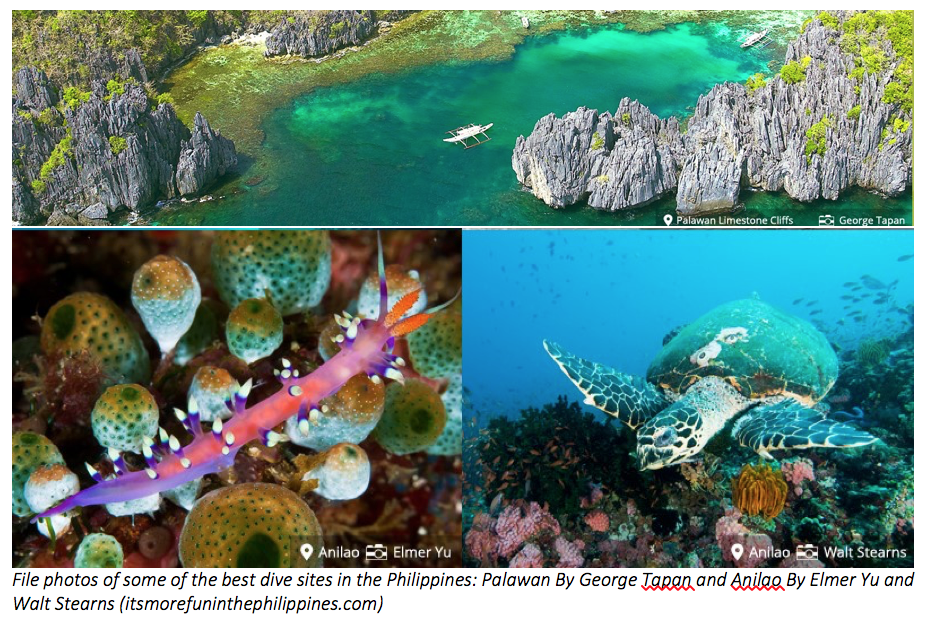 Philippines aims to be top diving destination in SE Asia