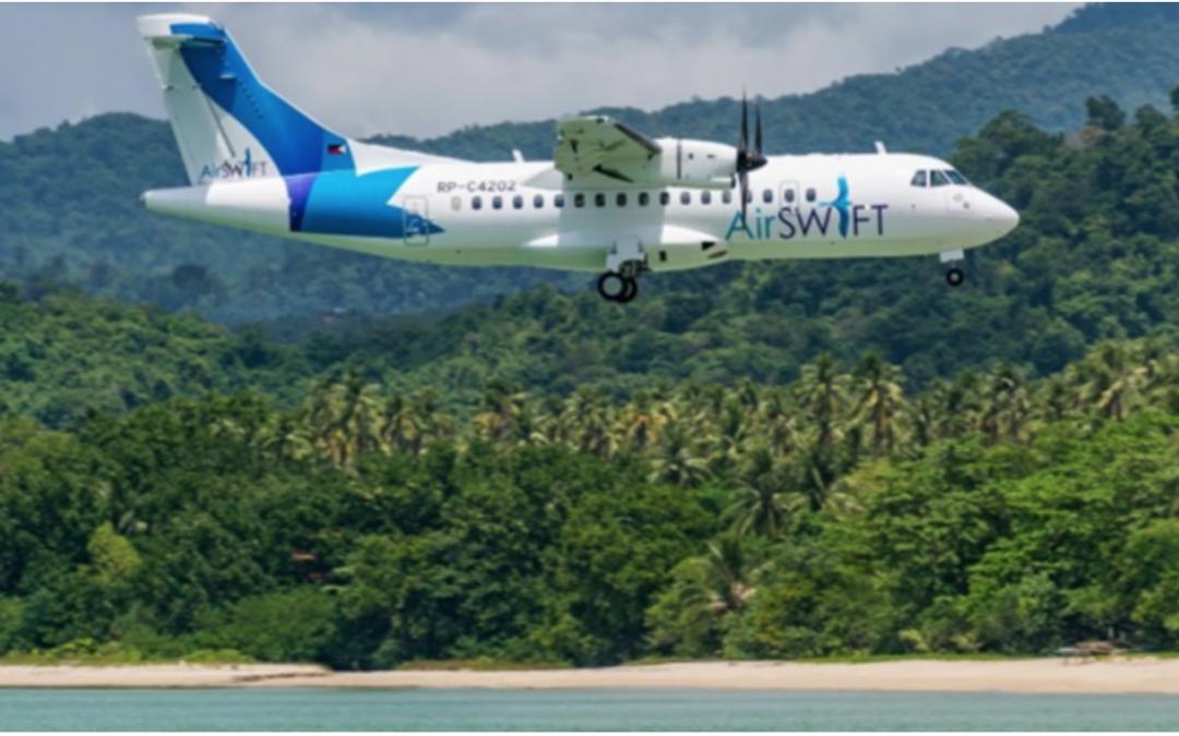 AirSwift to start direct Bohol-Palawan flights